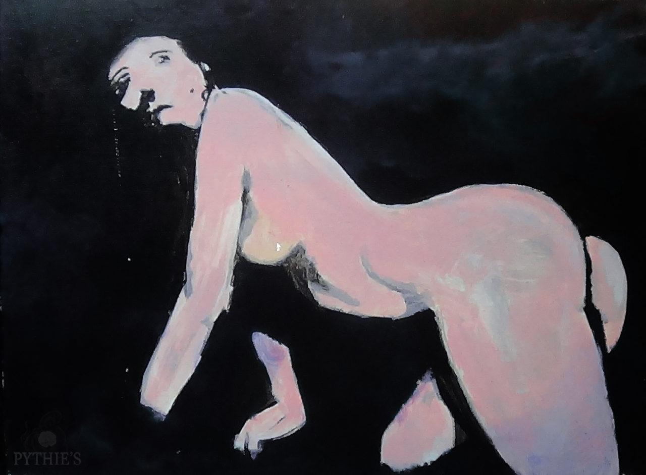 lamentation, 2015, acrylique