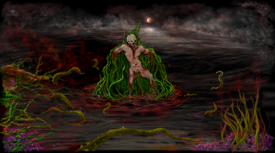 Le corps du marais, 2009, peinture numérique