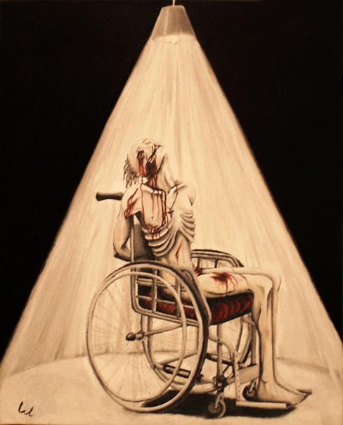 Lumière carnivore, ~2008, huile sur toile